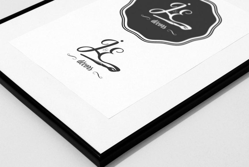 création logo je decors