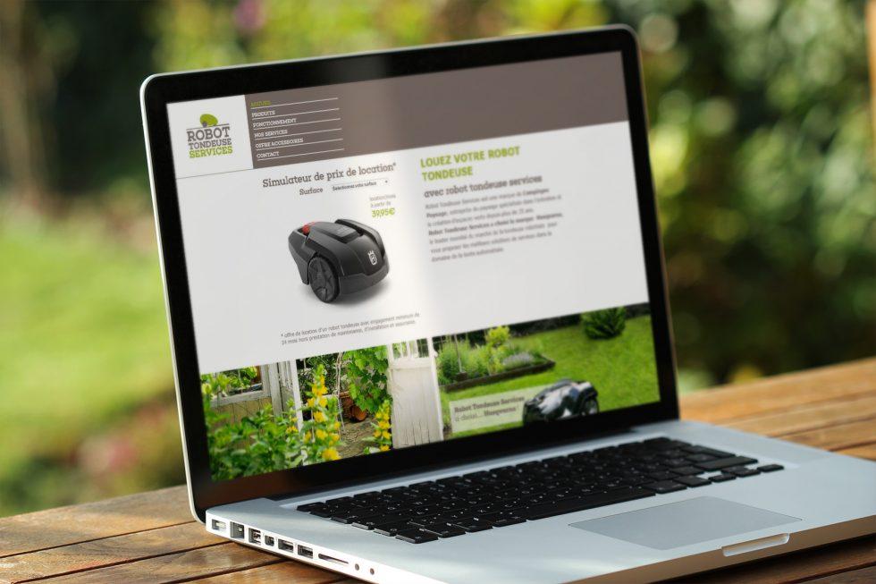 site web robot tondeuse services