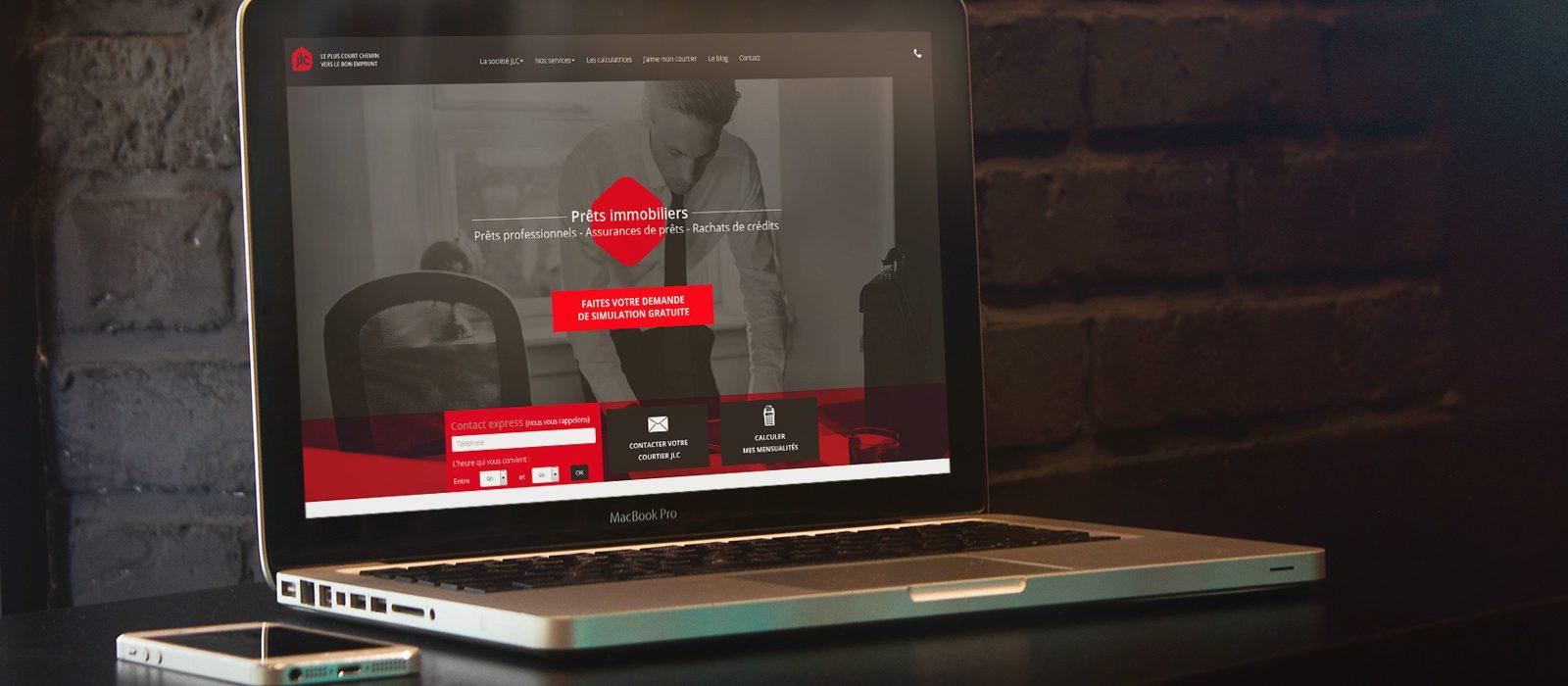 webdesign refonte site internet jlc