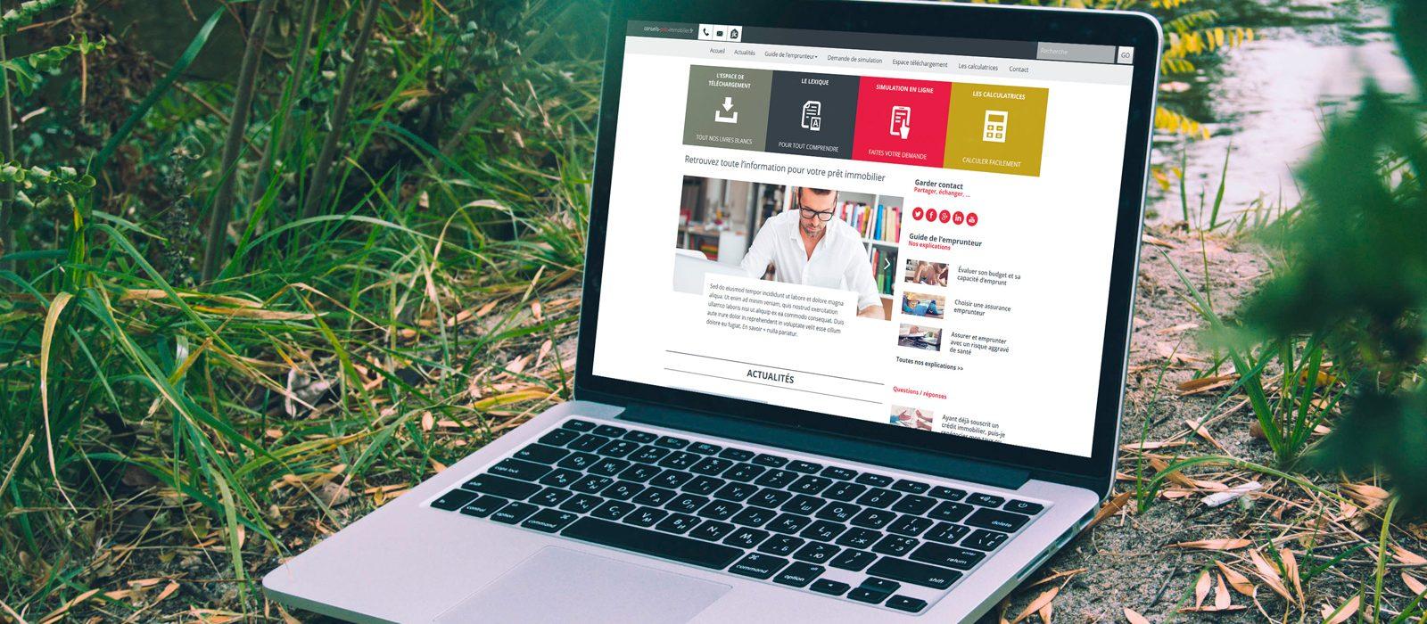 creation blog jlc : conseils-pret-immobilier.fr