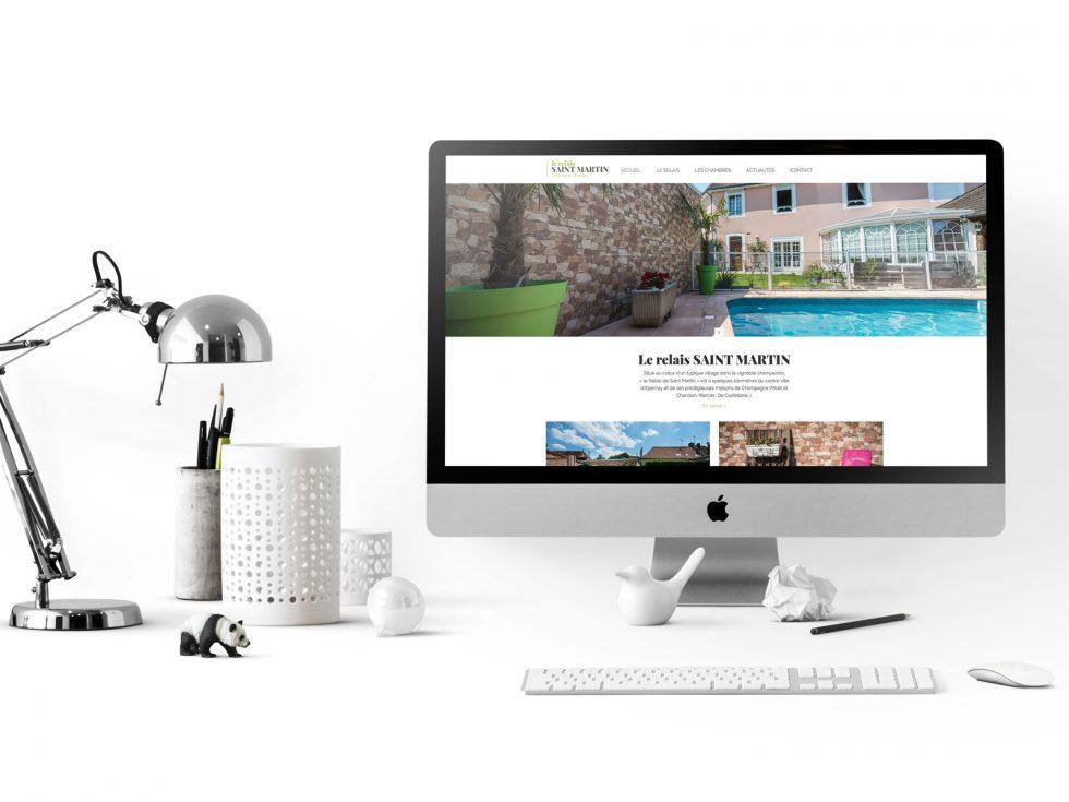 creation site web relais saint martin