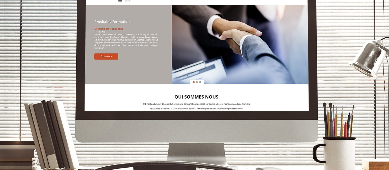 Création site internet mdf