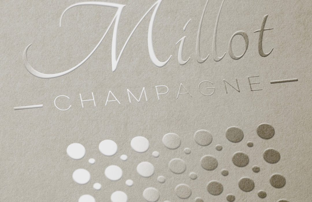 création logo Champagne Millot
