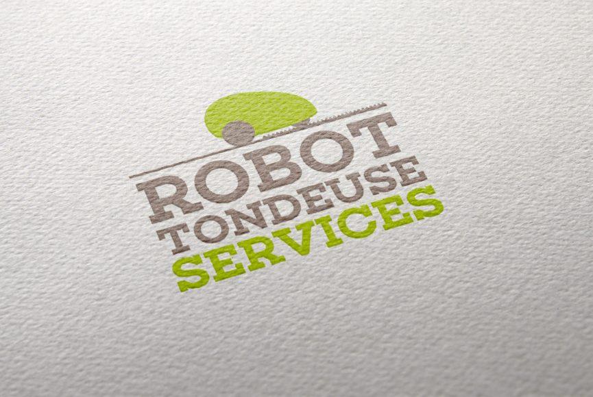 creation logo Robot Tondeuse Services