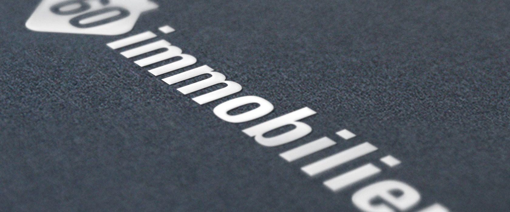 création logo 60immobilier