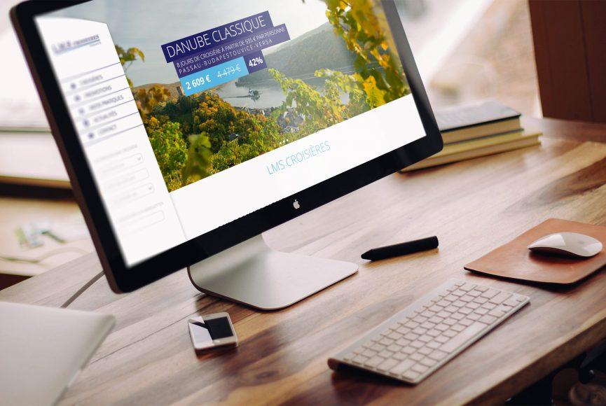 création site web lms croisieres