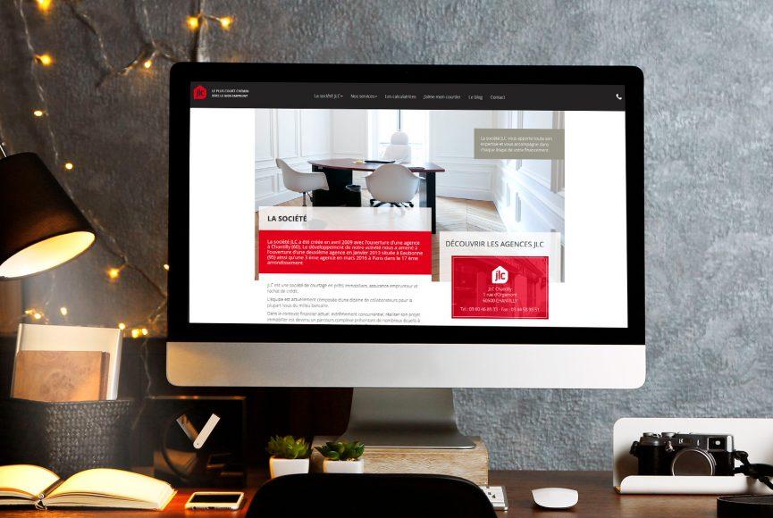 création webdesign site internet jlc
