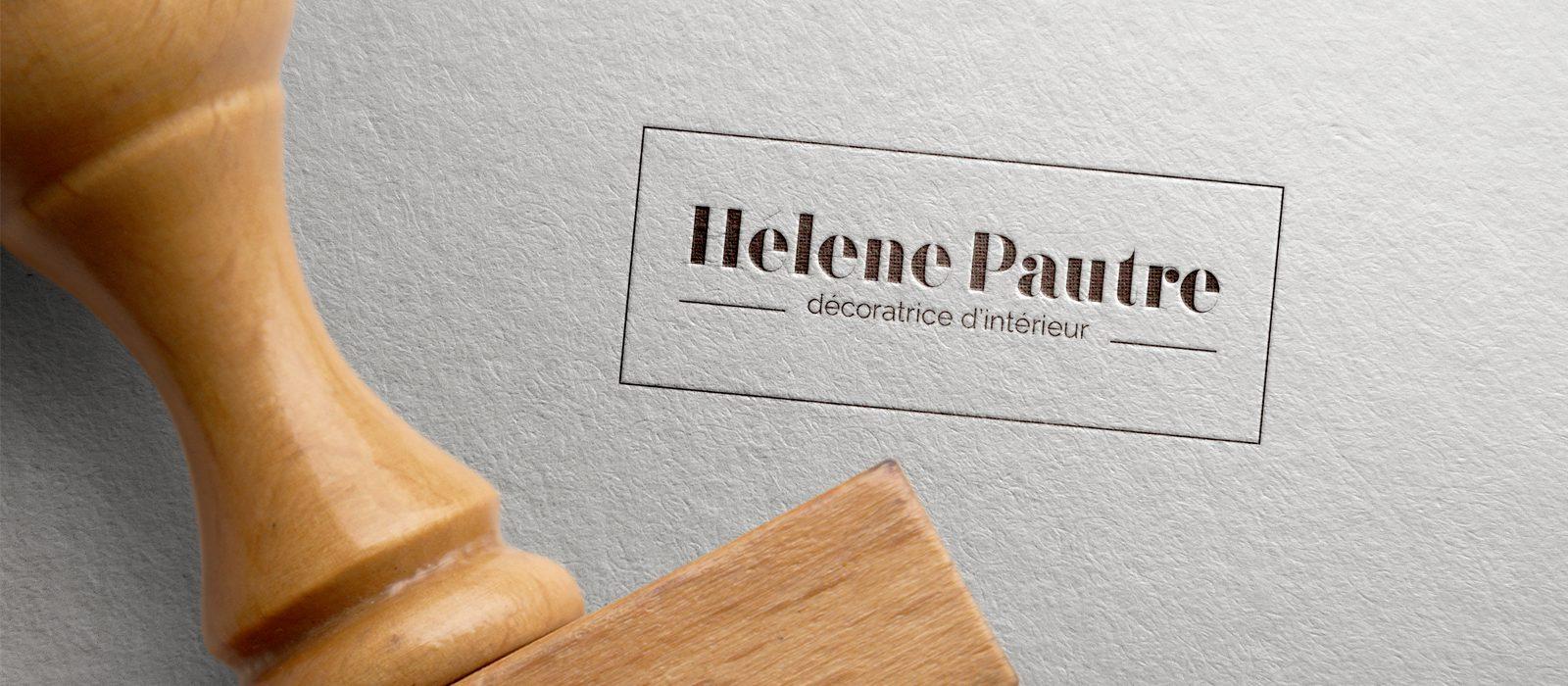 creation logo helene pautre