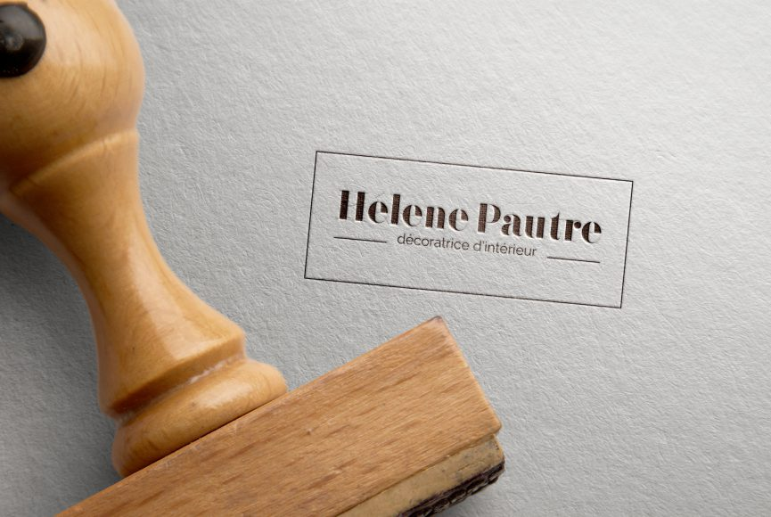 creation logo helene pautre