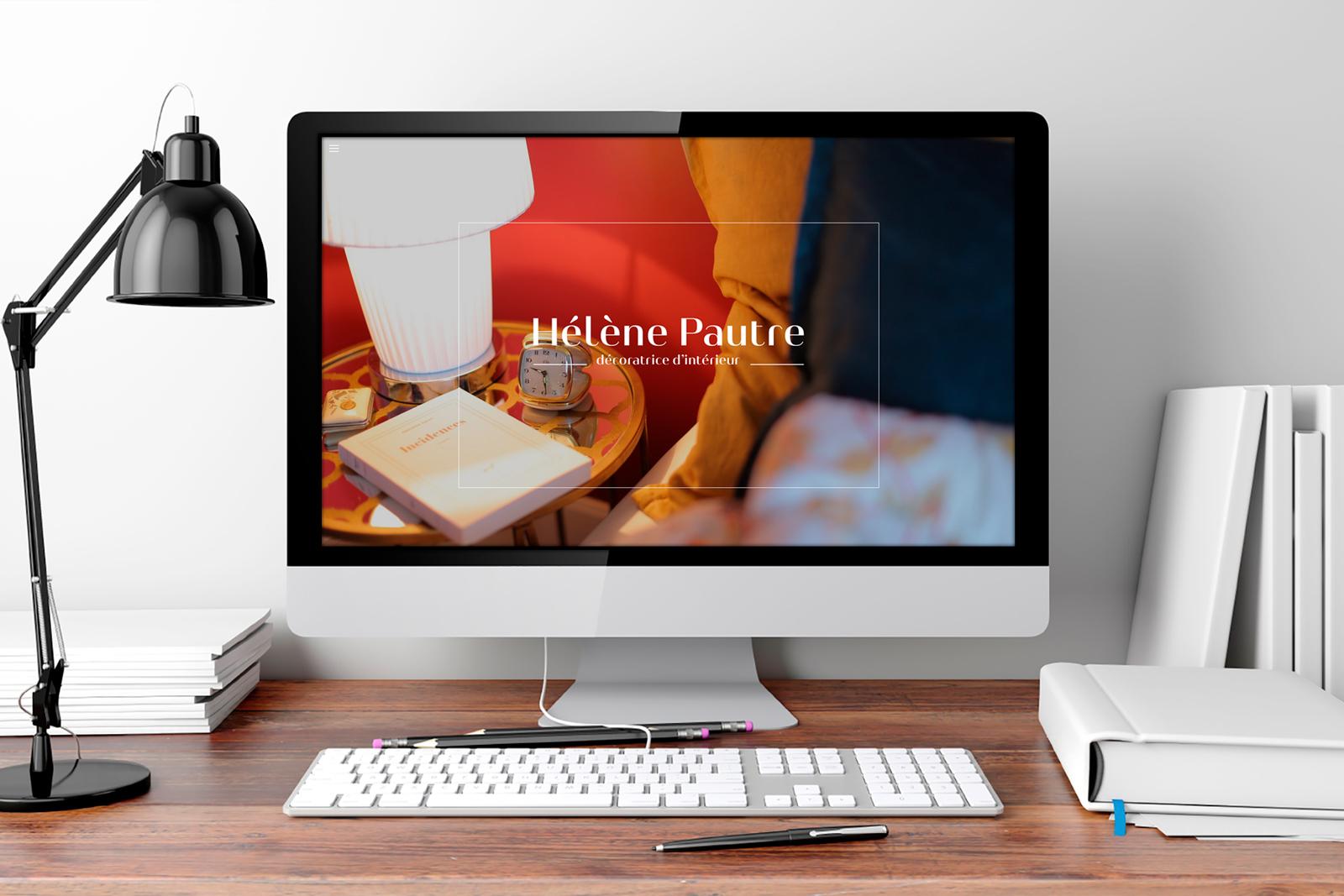 creation site internet helene pautre